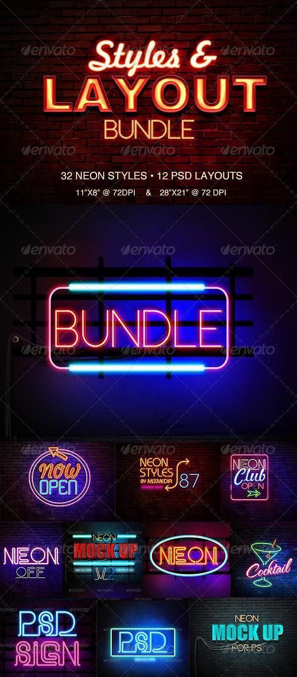Neon Style Bundle