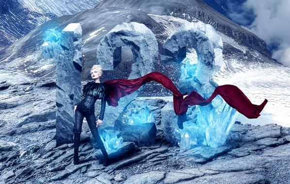 Create a Beautiful Ice Warrior Woman in Photoshop