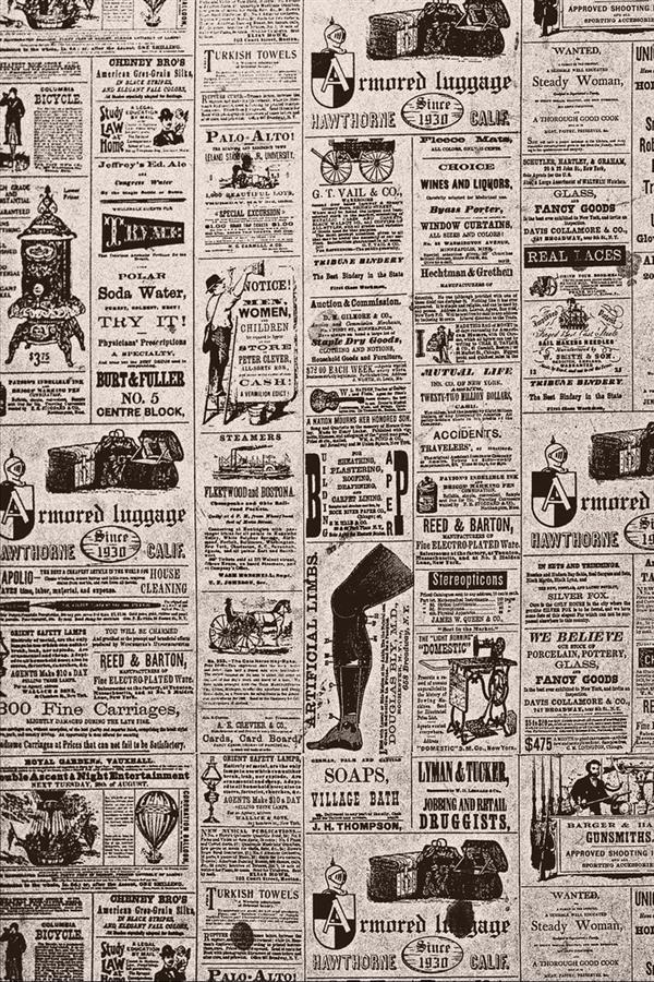 Vintage Newspapers Old Newspaper Texture Vintage