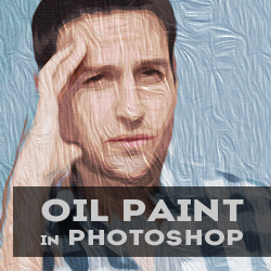oil paint effect in photoshop cs6