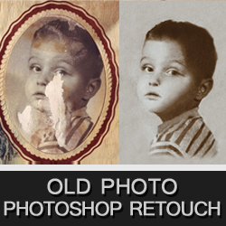 Old Photo Retouch and Repair Photoshop Tutorials psd-dude.com Resources