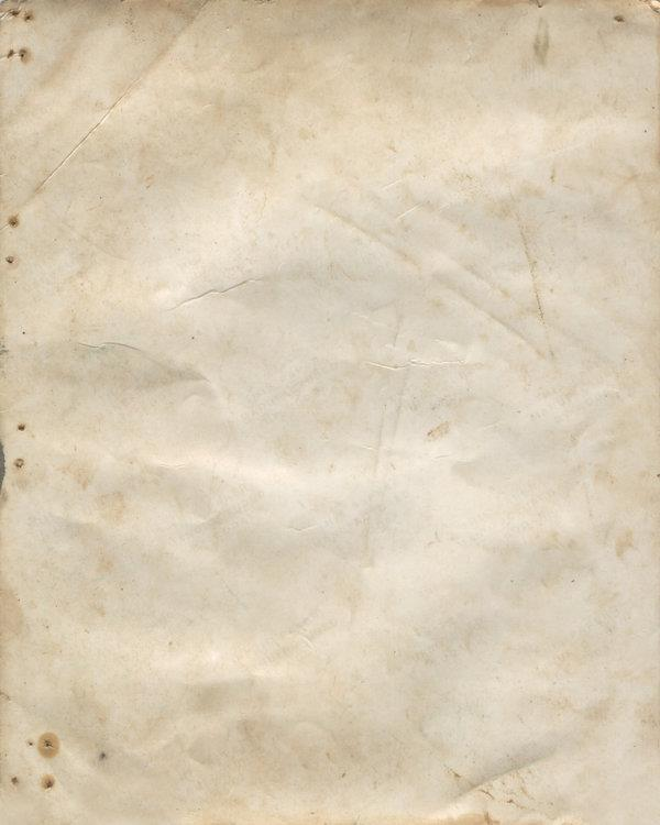 Aged Dirty Page Texture