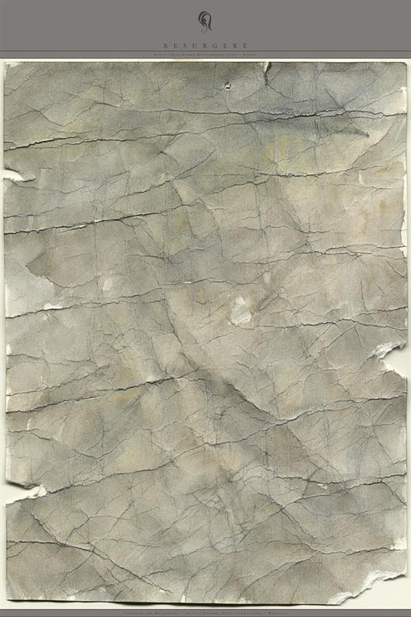 Crumpled Old Paper Texture