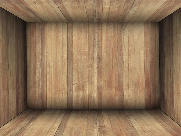 Wood Texture Background Box