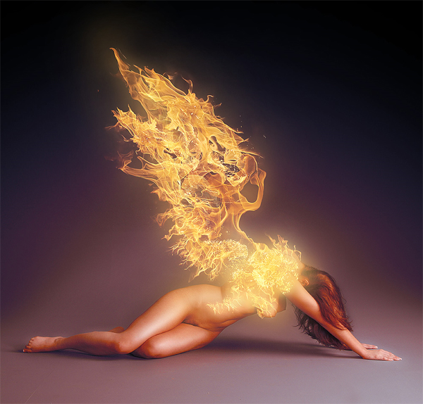 Flame Angel by anderton photoshop resource collected by psd-dude.com from deviantart