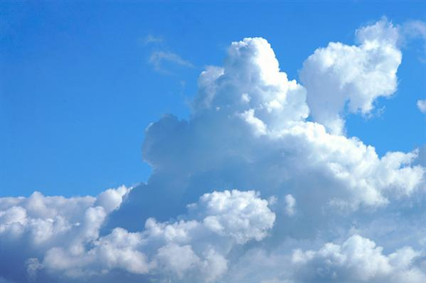 Cumulus Cloud Shape Texture