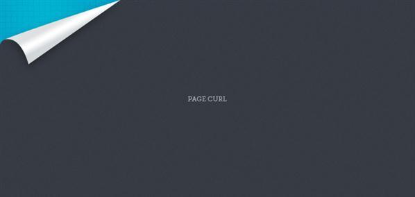 Page Curl PSD Layered - Free