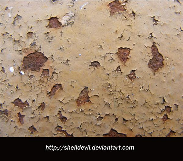 Peeling Paint and Rust by shelldevil photoshop resource collected by psd-dude.com from deviantart