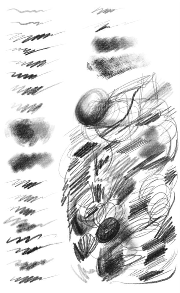 Digital Pencil and Graphite Brush Set