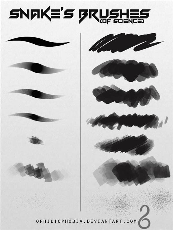 painting charcoal brushes