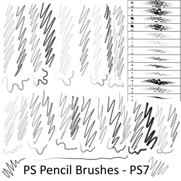 Pencil Sketch and Drawing Brushes