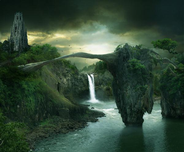 Bridge Fantasy Photo Manipulation