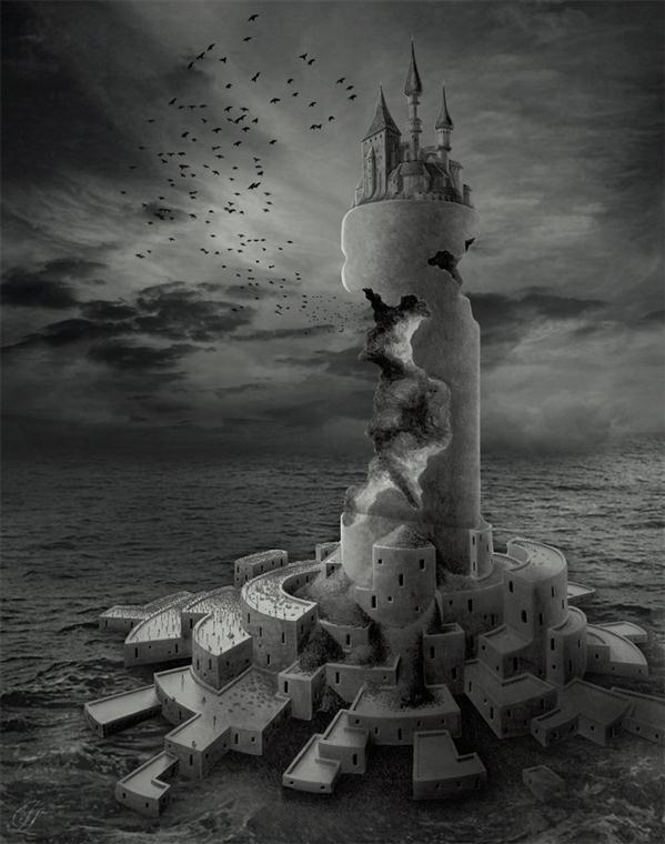 On The Castle Discordia Photo Manipulation