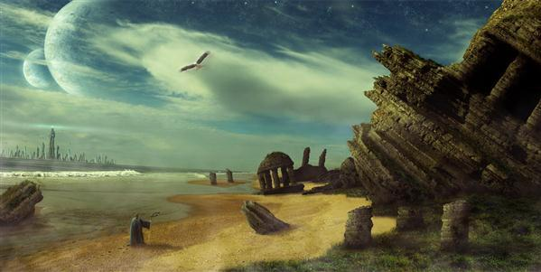 See The New World Rising Landscape Photo Manipulation