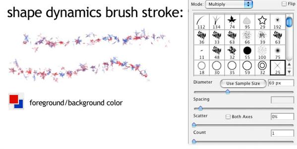 Photoshop Brush Dynamics Tutorial
