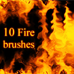 <span class='searchHighlight'>Fire</span> Brushes psd-dude.com Resources