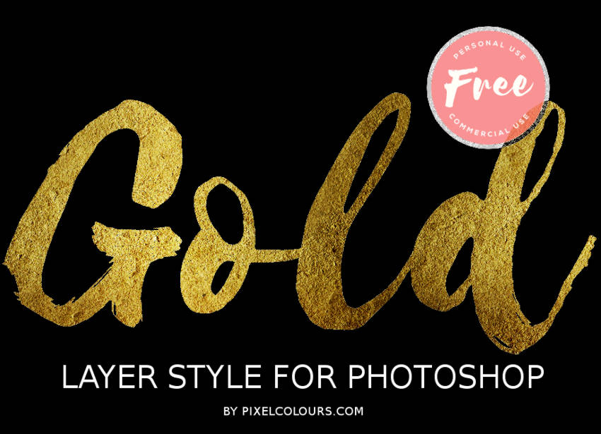Photoshop Gold Style Collection [2019] | PSDDude