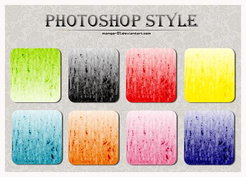 photoshop layer styles free download psddude