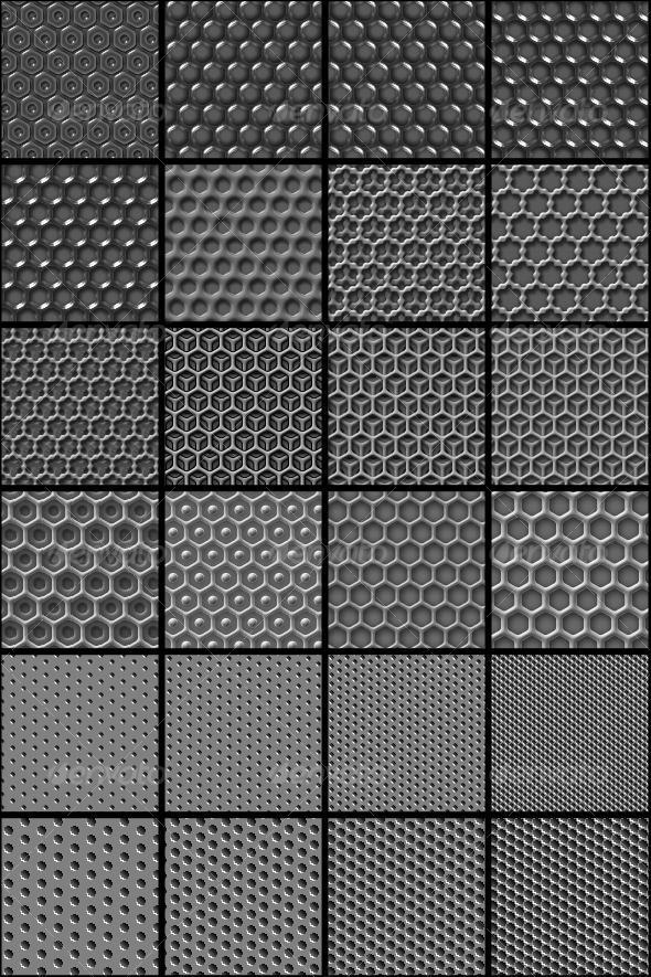 Photoshop Metal Pattern Collection PSDDude New Photoshop Grid Pattern