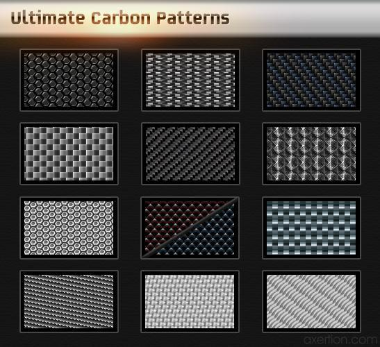 Metal Carbon Pattern Pack