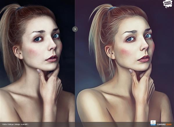 Realistic Painting Action for Photoshop CS6