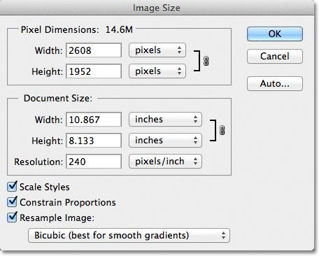 photoshop cs5 how to make multiple images same size