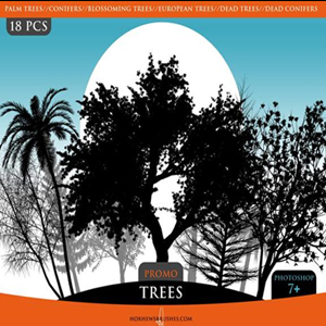 <span class='searchHighlight'>Tree</span> Photoshop Brushes   PSDDude psd-dude.com Resources