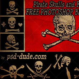 Skull Photoshop Brushes | PSDDude