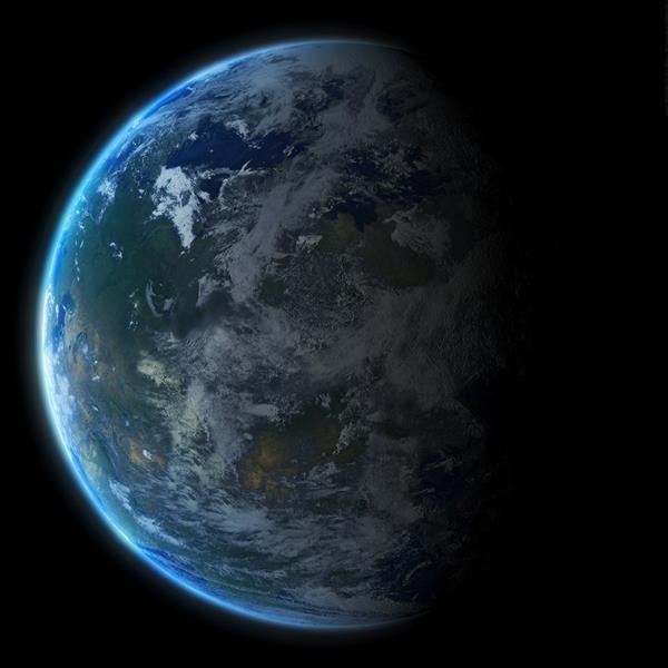 Earth Planet Space Background