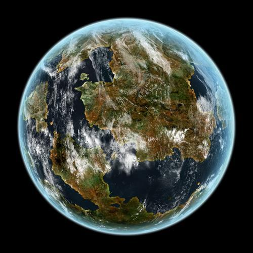 light beige planet mars - photo #45