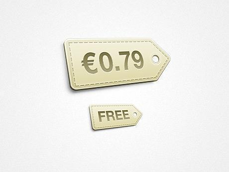 Price Tag PSD File