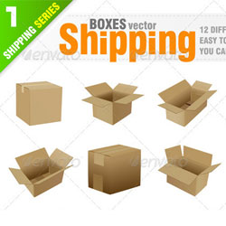 Vector Box with PSD Layered Files psd-dude.com Resources