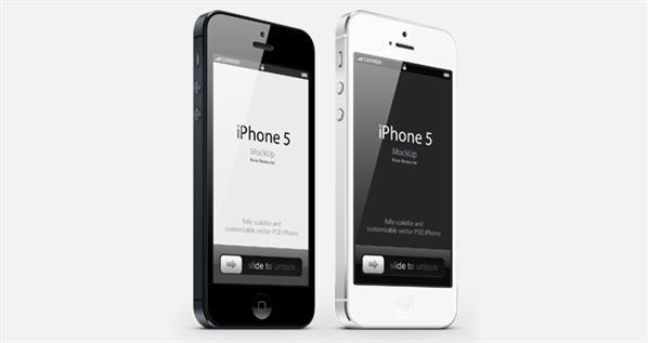 iPhone Mockup PSD Vector File