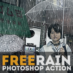 Free Rain and Raindrop Textures for Photoshop | PSDDude