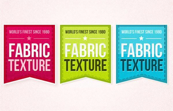 Fabric Retro Ribbon PSD