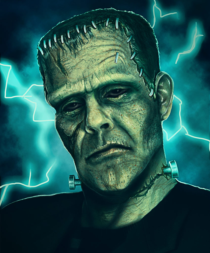How to Create a Frankenstein Monster Photo Manipulation in Adobe Photoshop