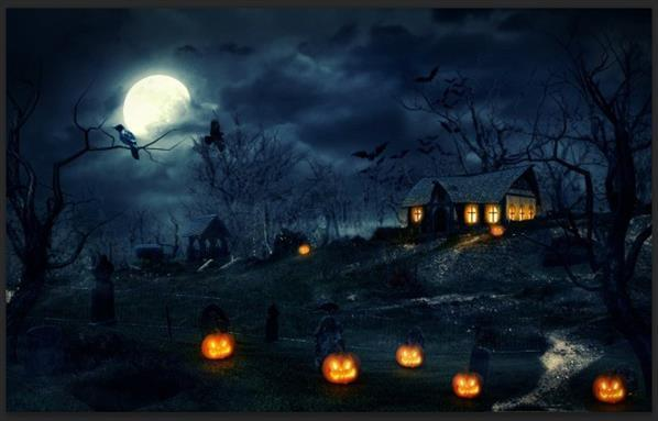 Create halloween photo manipulation photoshop