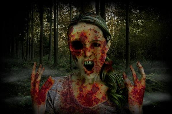 How to create a zombie photoshop video tutorial
