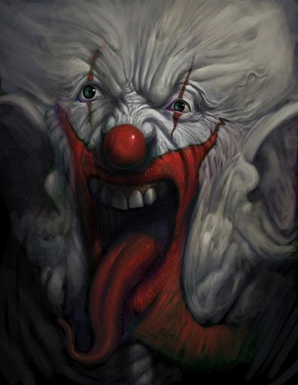 Clown by Furneaux photoshop resource collected by psd-dude.com from deviantart
