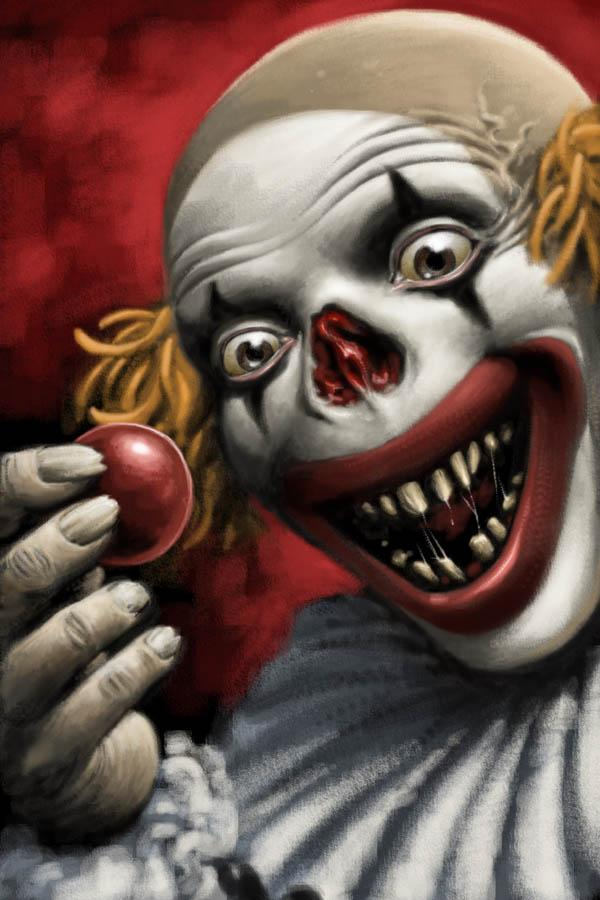 Scary Clown Pictures for Halloween | PSDDude