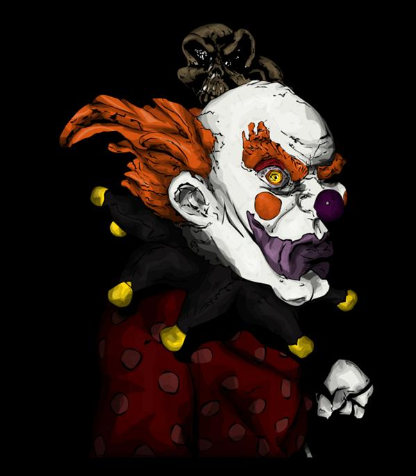 Clown by Novembermeisje photoshop resource collected by psd-dude.com from deviantart
