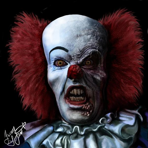 Devil clown Pennywise by Shaytan666 photoshop resource collected by psd-dude.com from deviantart