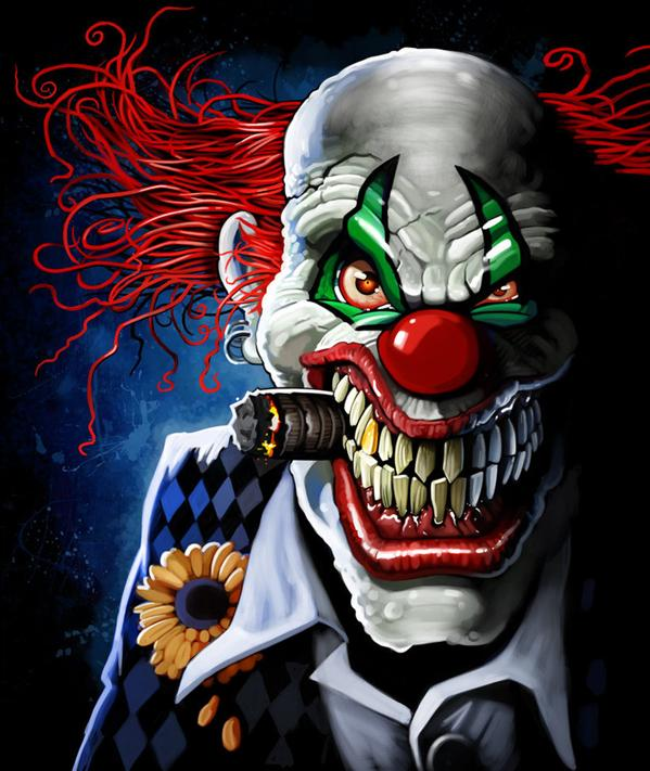 Wicked Clown Designs Picture 13974 Pictures to pin on Pinterest Wicked Jester Skull