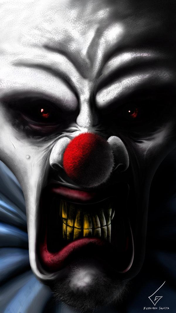 Menonite Clown by Dathy photoshop resource collected by psd-dude.com from deviantart