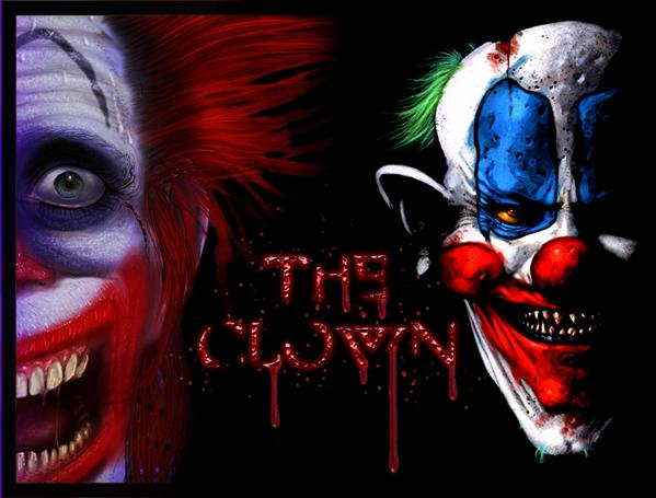 the scary clown by BL00DG0D photoshop resource collected by psd-dude.com from deviantart