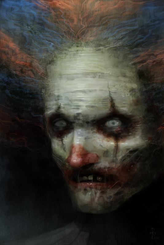 Zombo The Clown by mindsiphon photoshop resource collected by psd-dude.com from deviantart