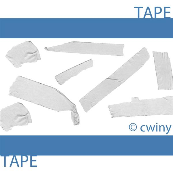 tape brush by cwiny photoshop resource collected by psd-dude.com from deviantart