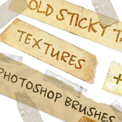 Scotch Tape Brush Photoshop Packs psd-dude.com Resources