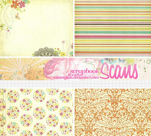4 Scrapbook scans 2103 by Missesglass photoshop resource collected by psd-dude.com from deviantart