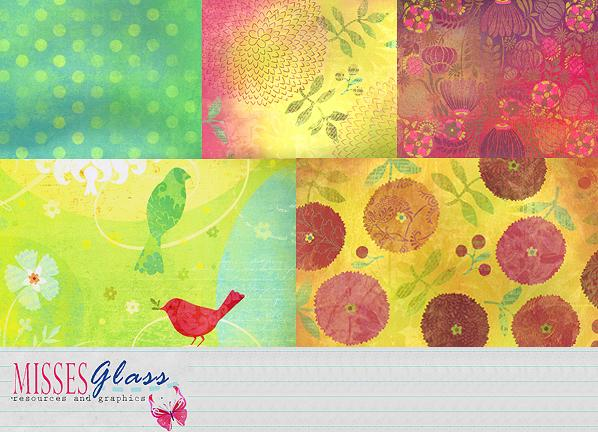 5 700x500 Scrapbook scans S2 by Missesglass photoshop resource collected by psd-dude.com from deviantart